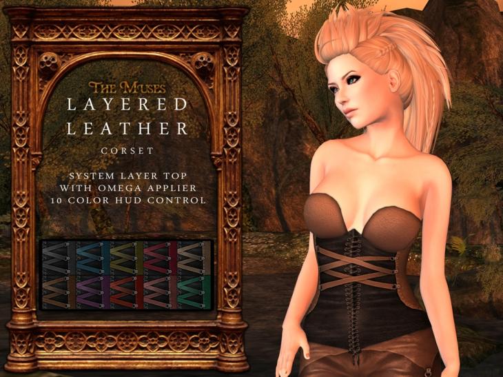 layered leather corset main